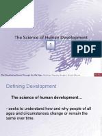 Ch 1 - Slides - Lifespan Development