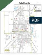 City of Galesburg Ward and Precinct Map
