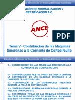 Cortocircuito 5- Contribución de Las Máquinas Sícncronas