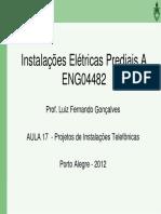 ENG04482 Aula 17 Projeto Instalacao Telefonica