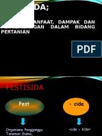Pemanfaatan Dan Pengelolaan Pestisida