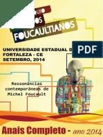 Anais Do III Colóquio de Estudos Foucaultianos UECE-LAPEF - UECE