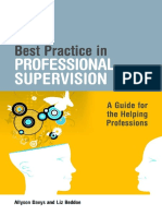 Best Practice in Professional SupervBest Practice in Professional Supervision A Guide for the Helping Professions - MGision a Guide for the Helping Professions - MG