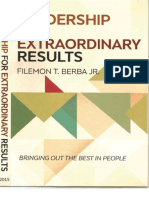Leadership for Extraordinary Results
