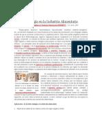 La Biotecnología en La Industria Alimentaria