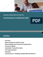 Connecting to the Network Cables