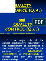 QC in Clinical Laboratories