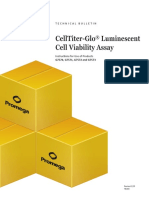 Celltiter Glo Luminescent Cell Viability Assay Protocol