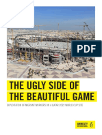 THE UGLY SIDE OF THE BEAUTIFUL GAME