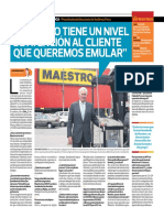 Presidente Del Directorio de Sodimac Perú