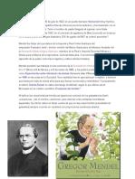 Gregory Mendel Nació El