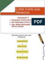 Metabolisme Pirimidin