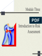 Introduction of Risk Assessment