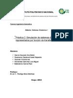 Practica Sistemas Dinamicos Reporte 2