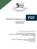 Manual de Litigacion Juicios Orales