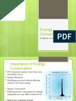Energy Efficiency in Equipments