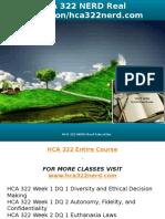 HCA 322 NERD Real Education-hca322nerd.com