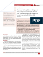 Coronary Artery Disease Diagnosis Using Supervised Fuzzy C-Means with Differential Search Algorithmbased Generalized Minkowski Metrics
