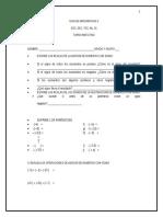 Guia Para Examen de Recuperación de Matematicas II 2012-2013