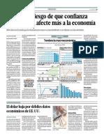 Tendencia Macroeconómica Influye en Lña Economia