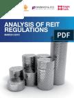 Analysis of Reit Regulations in India