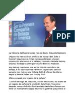 Eduardo Belmont (La Historia Del Hombre Más Rico de Perú)[1]