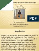 Dyeingofcottonwithreactivedye 150814121253 Lva1 App6891