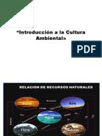 Clase 1 - Introducción a La Cultura Ambiental