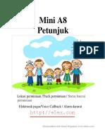 Panduan Penggunaan Mini a8 Dalam Bahasa Indonesia