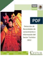 Detección de necesidades de conocimiento e información del sector turístico