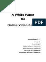 Online Video Rental