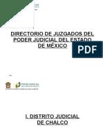 Directorio de Juzgados del Estado de México