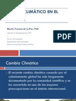 CELA Lima2013 Seminario Timana-Cambio Climtico en El Per-2013 INTE PUCP