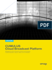 CUMULUS Cloud Broadcast Platform
