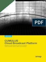 CUMULUS Cloud Broadcast Platform