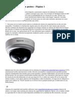 CCTV + sistemas de postes - P?gina 1