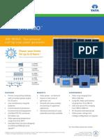 Tata Solar Dynamo ..solar panel