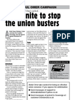 Let's unite to stop the union busters