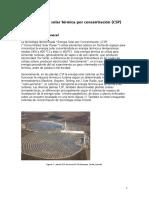 Energía Térmica a Partir de Sistema Parabólico