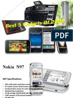 Best Gadgets of 2010 pptx*Gr8 Effects*