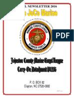 The JoCo Marine - April 2016