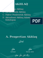 Akhlaq Dan Aktualisasinya Dalam Kehidupan