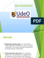 Mercados Finanancieros Sesion i