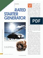 integrated starter generator