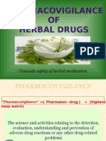 Herbal Pharmacovigilance Ppt - Copy