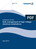 Guidelines for Hv Installations