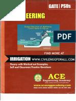 Irrigation - Ace GATE Material - Www.civilenggforall.com