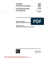 IEC 1773-OHL-Testing of Foundations for Structures