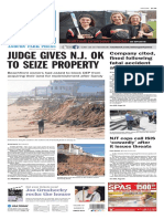 Asbury Park Press front page Thursday, March 31 2016