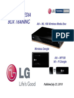 Lg Wireless Media Box Training Manual